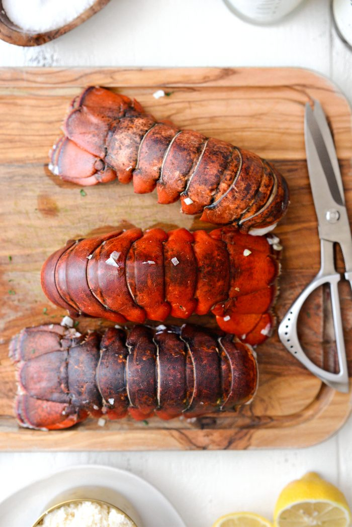 remove lobster tails