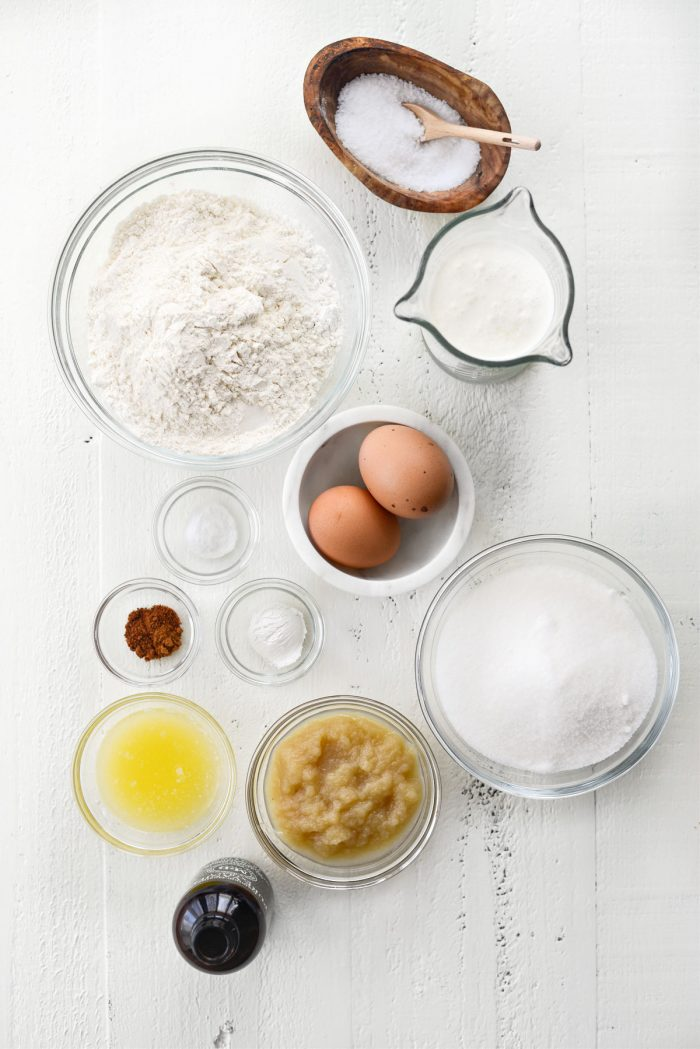 Glazed Buttermilk Cake Doughnuts ingredients