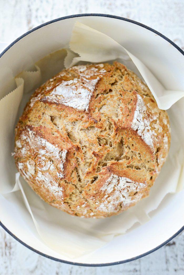 browned Irish Soda Bread