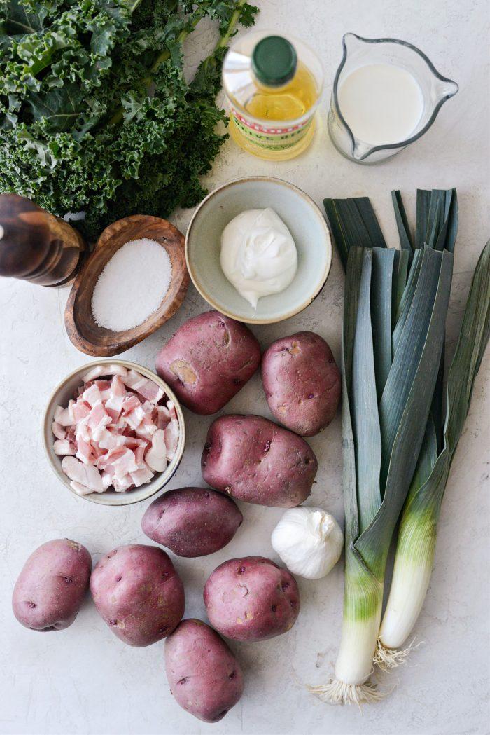 Colcannon (Irish Mashed Potatoes) ingredients