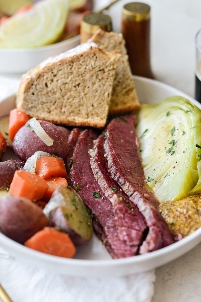 Corned Beef and Cabbage (Irish Boiled Dinner) l Recipes to Make On St. Patrick's Day