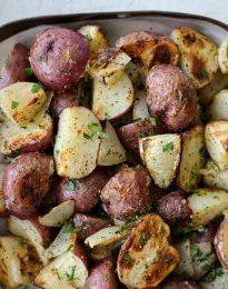 Dijon Roasted Redskin Potatoes