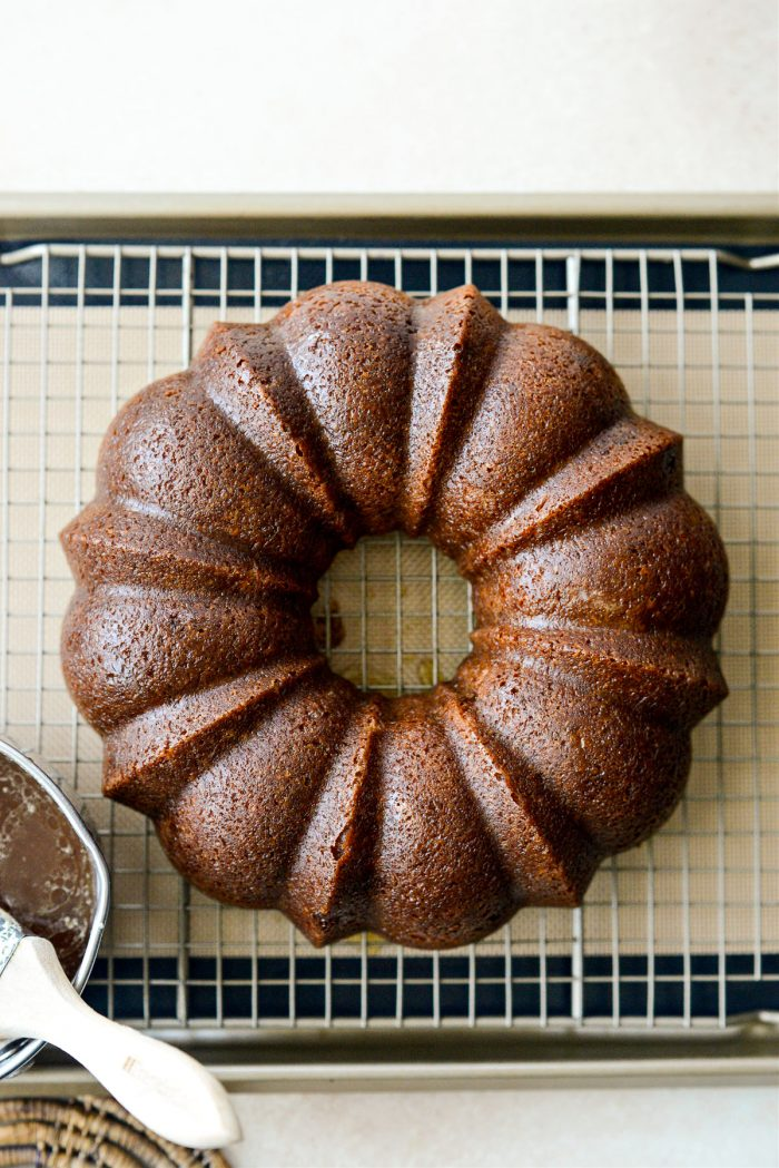 glazed Irish Whiskey Cake