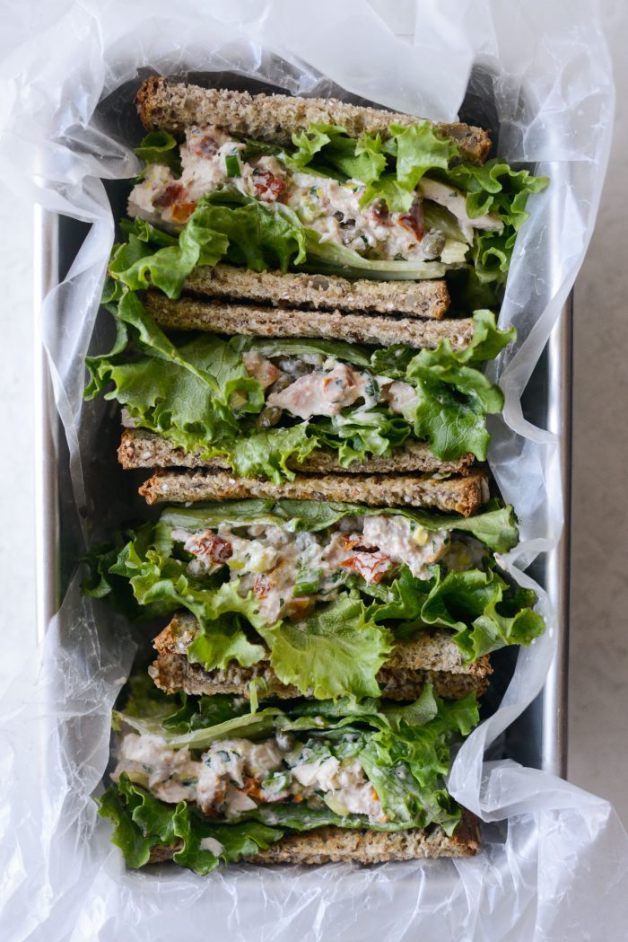 Sun-dried Tomato Tuna Salad