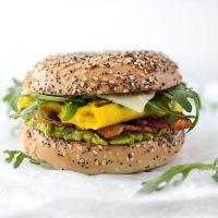 Everything Bagel Breakfast Sandwich