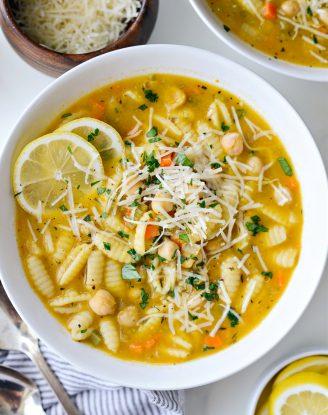 Lemon Chickpea Soup