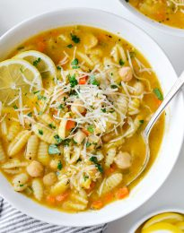 Lemon Chickpea Soup