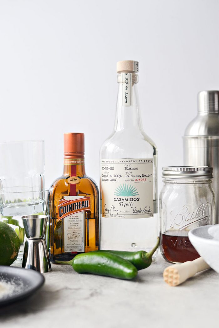 Ingredients Spicy Jalapeno Margaritas