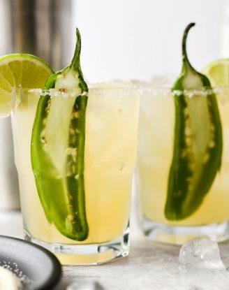 Spicy Jalapeno Margaritas