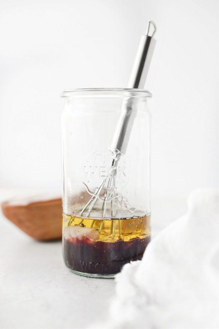 add remaining ingredients to jar