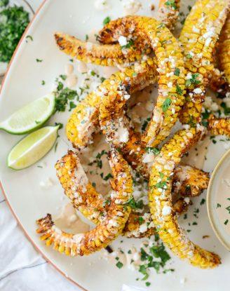 Air Fryer Corn Ribs
