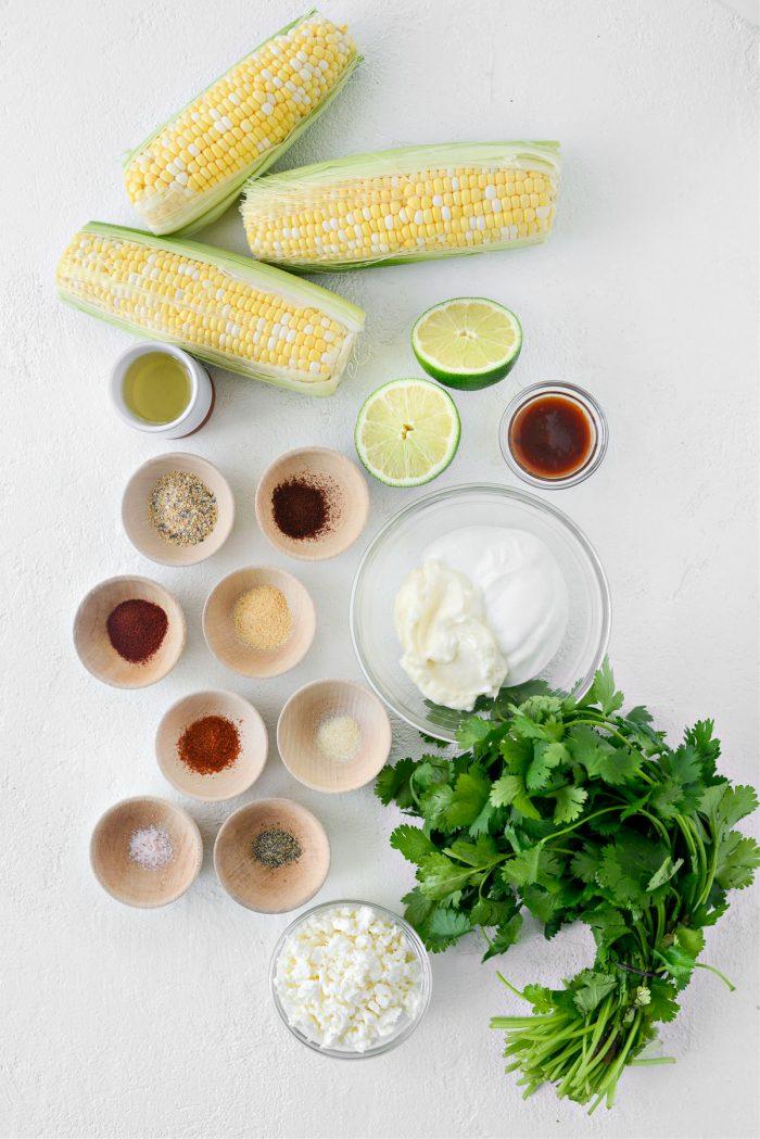 Air Fryer Corn Ribs ingredients