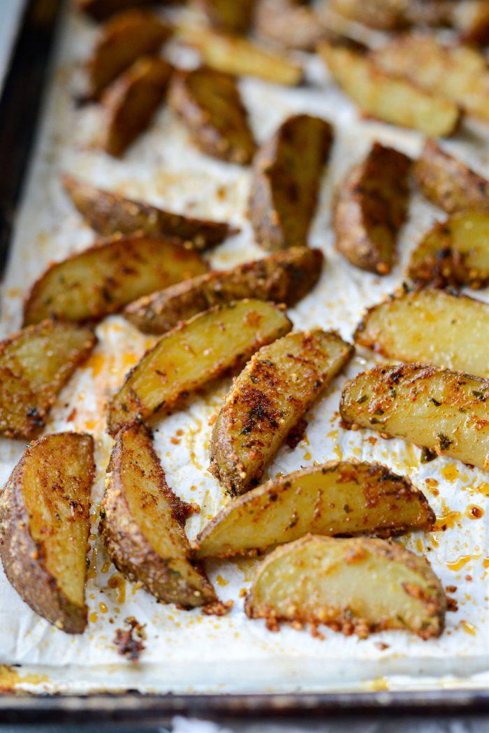 turn each potato