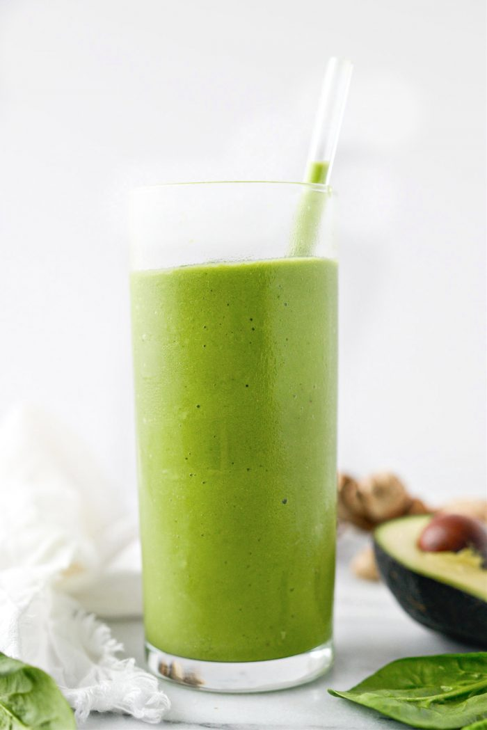 sipped Favorite Healthy Green Smoothie Recipe