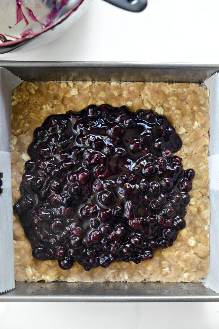 add filling to bottom crust
