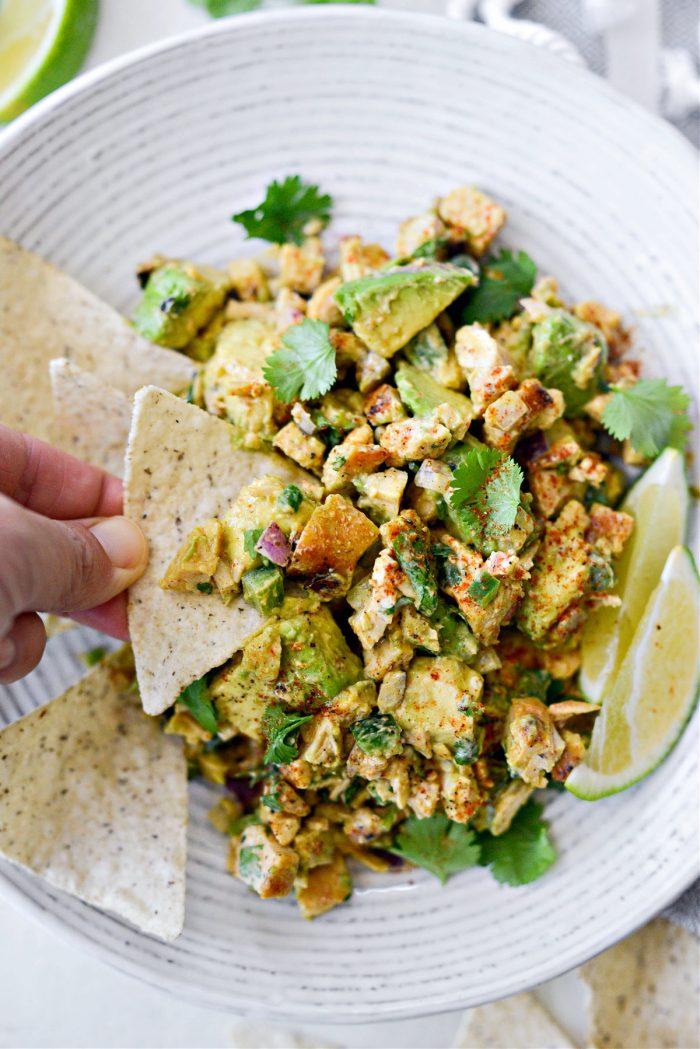 Cilantro-Lime Grilled Chicken Avocado Salad