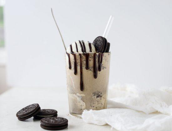 Espresso Cookies and Cream Milkshake