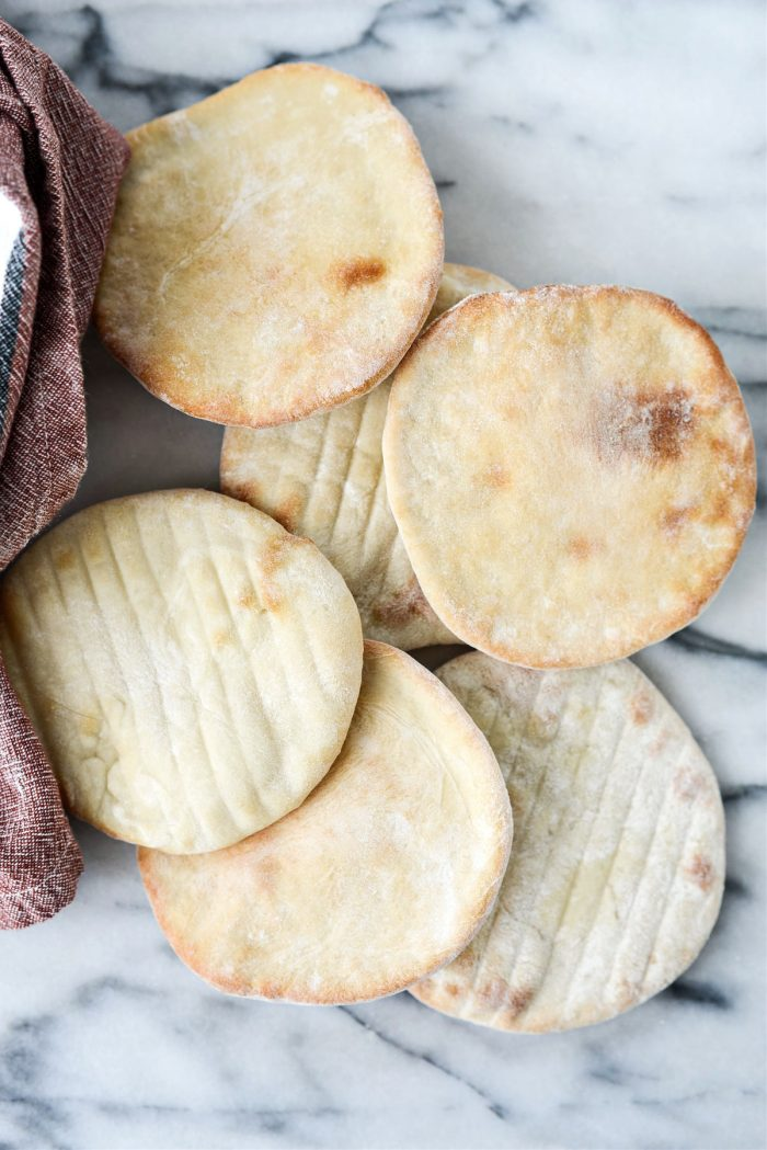 Homemade Mini Pita Bread