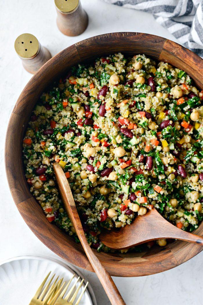 Marinated Confetti Picnic Salad