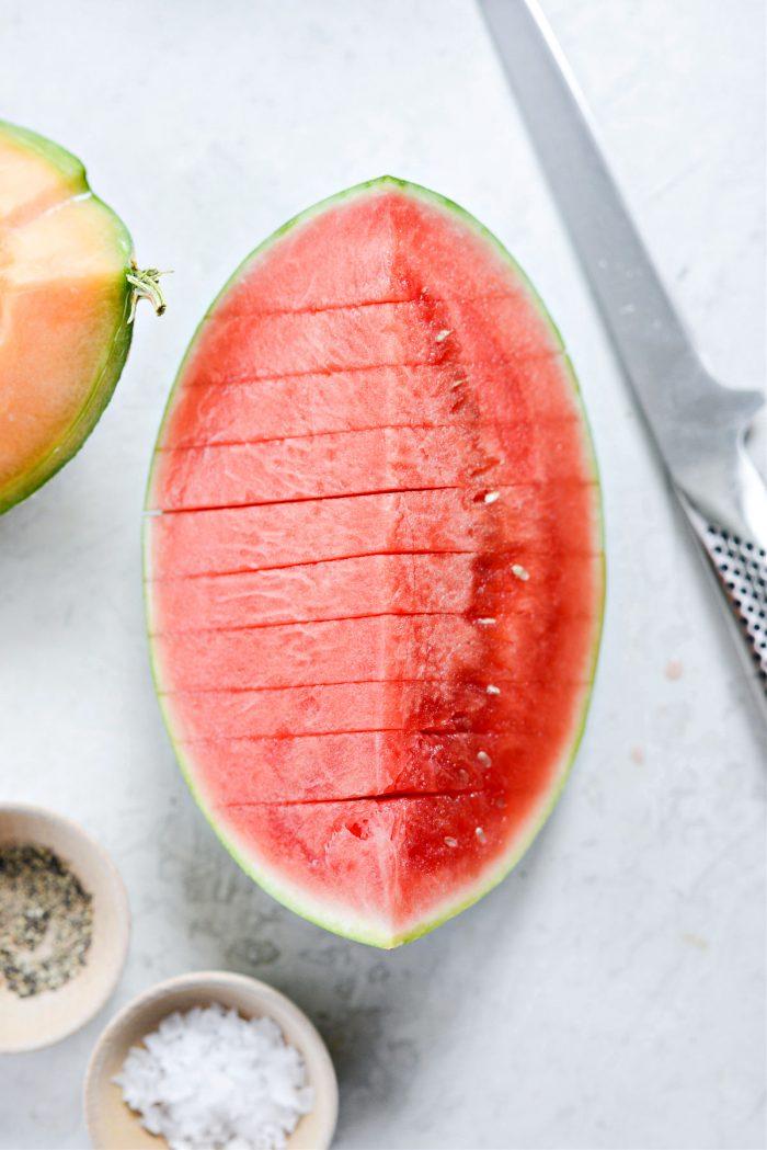sliced mellon