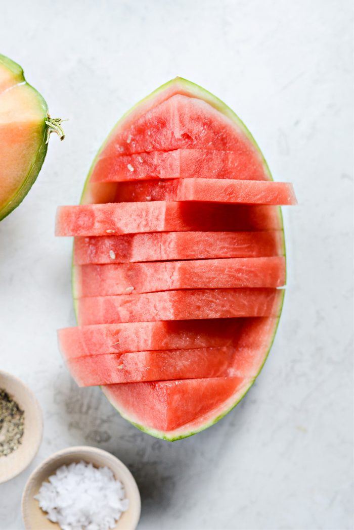 wedges of melon