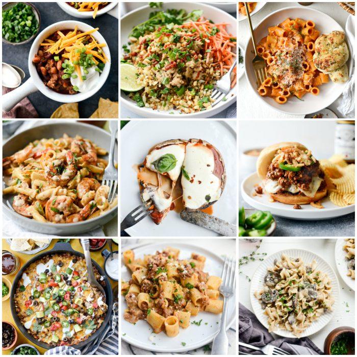 25+ Easy Dinner Recipes