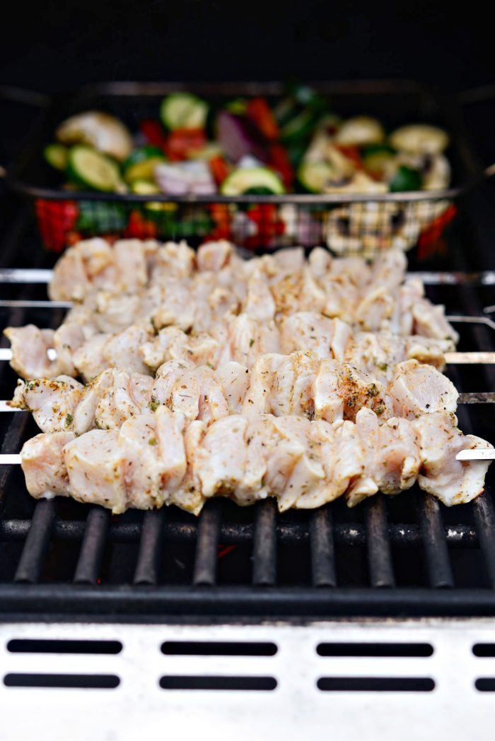 grill chicken 2 to 3 minutes a side