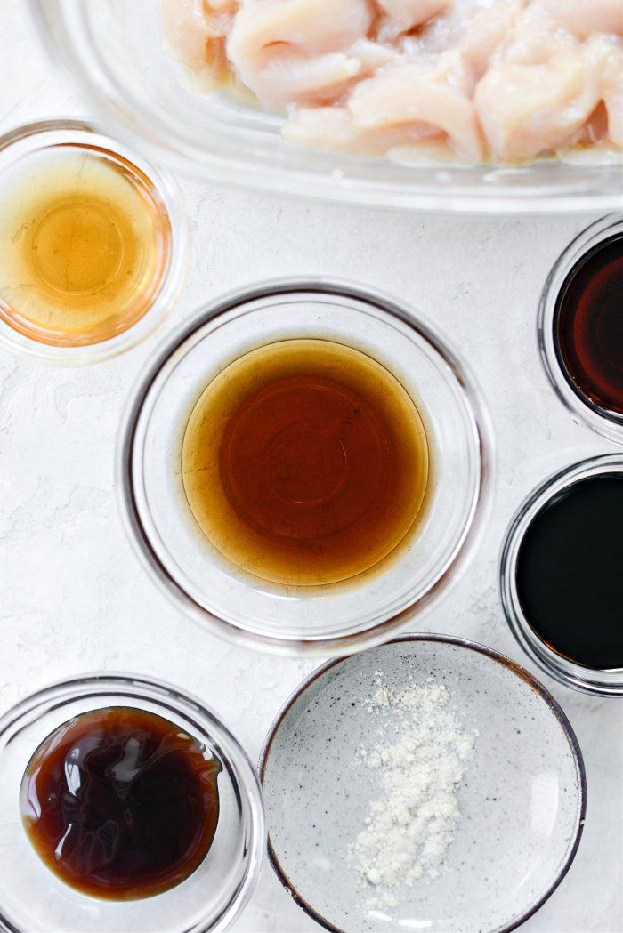 brown sugar and water