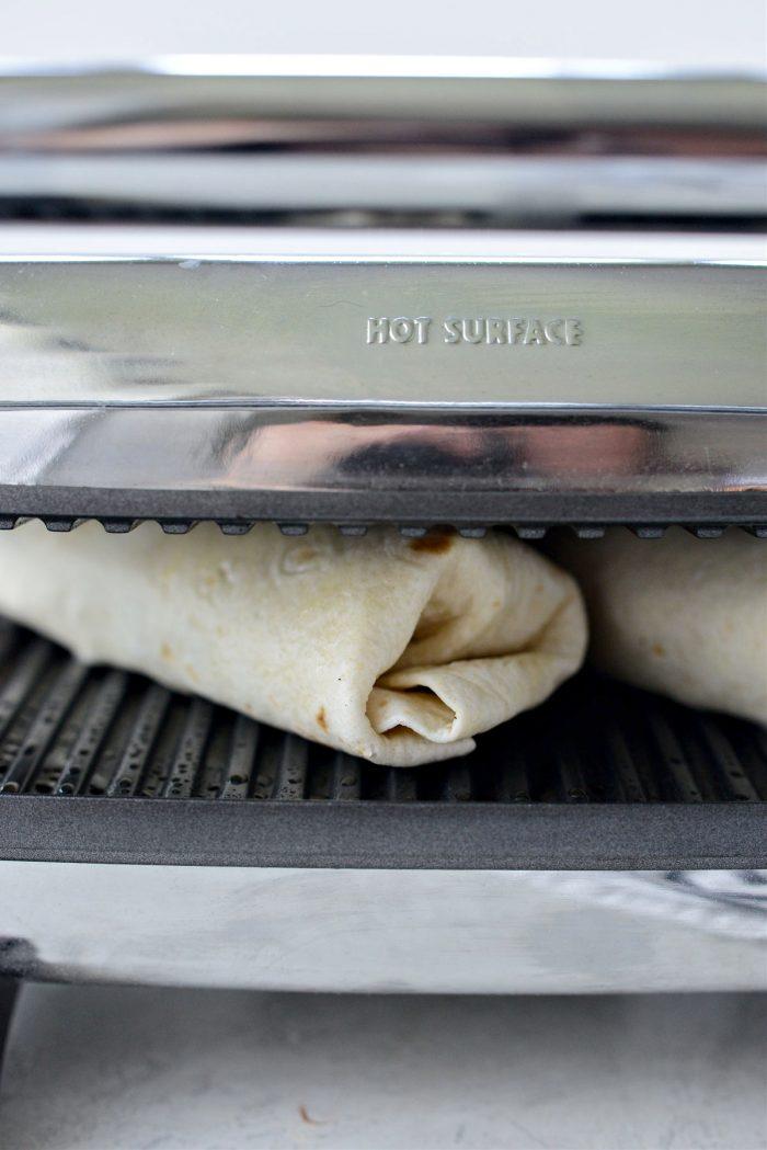 press burritos