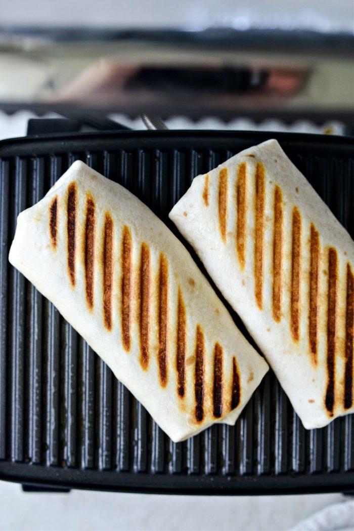grilled burritos, repeat