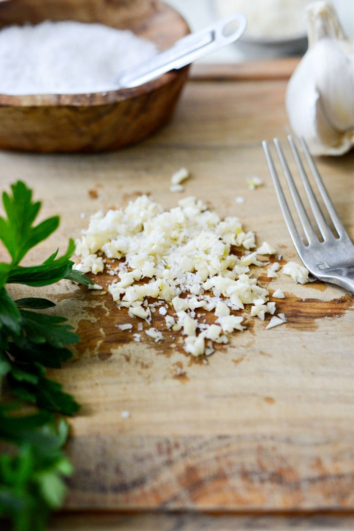 garlic and salt