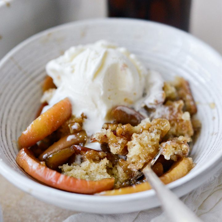 Caramel Apple Pudding Cake