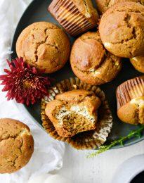Cheesecake Pumpkin Muffins