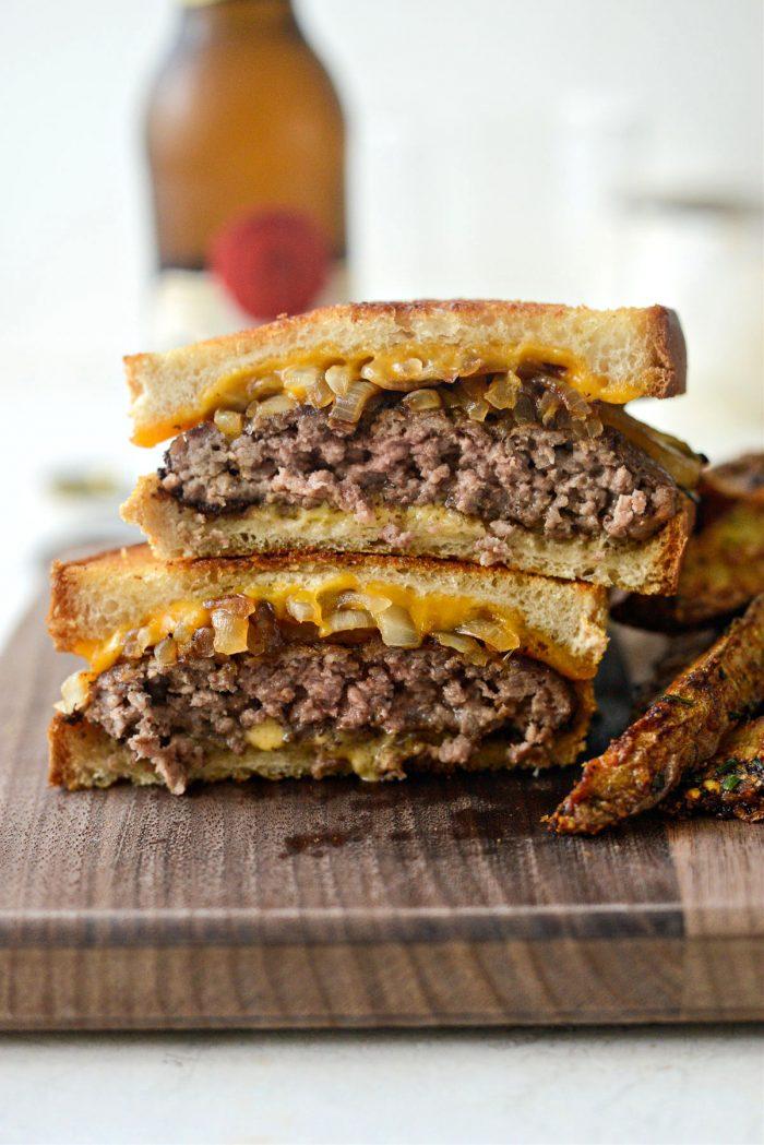Classic Beef Patty Melt