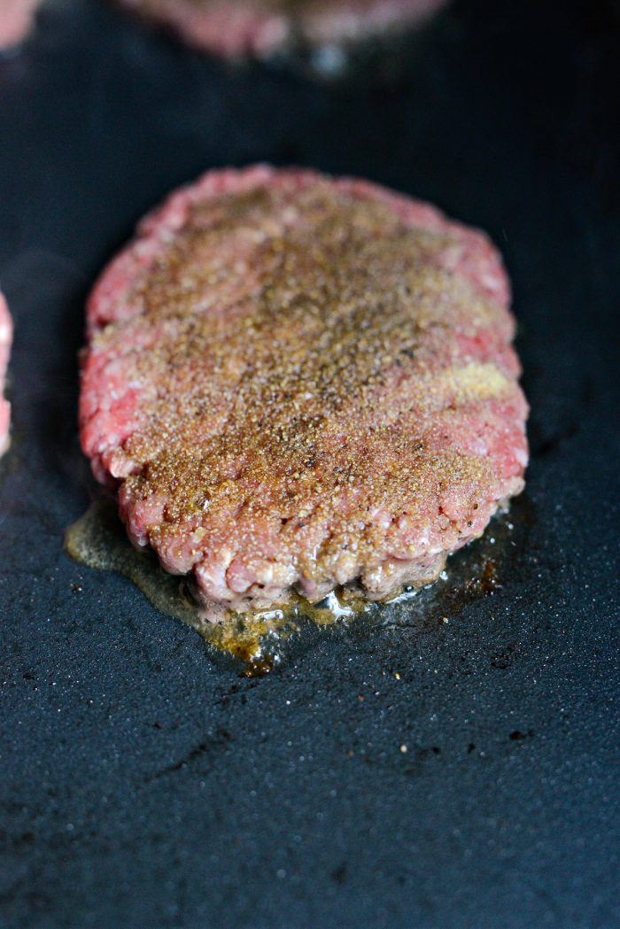 griddle beef patties
