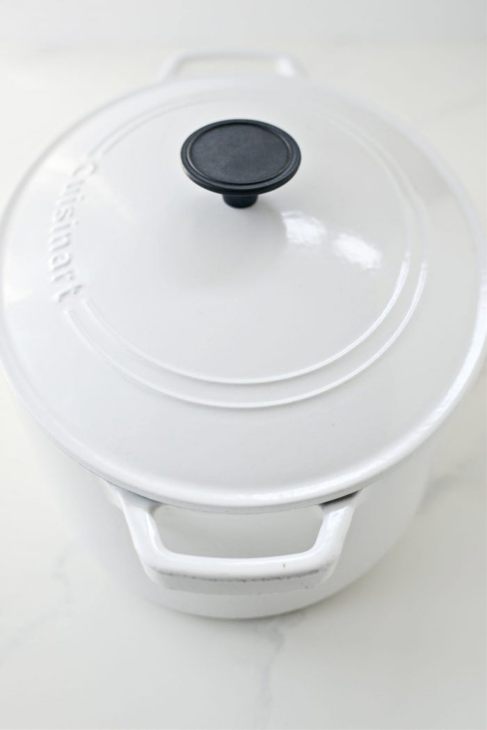 preheat dutch oven in oven