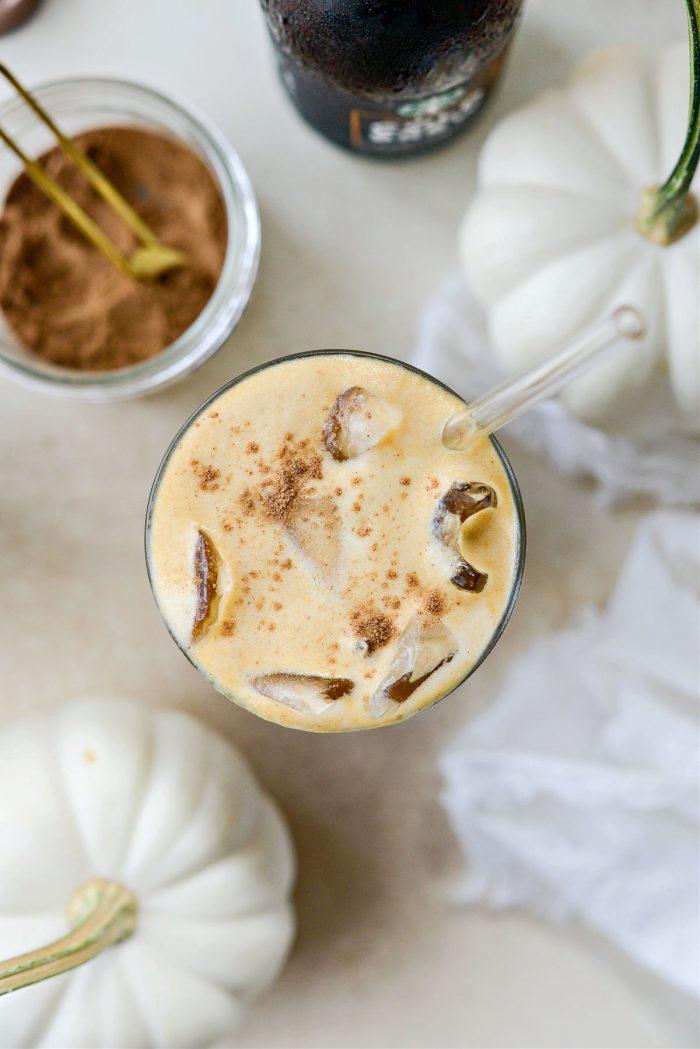 Pumpkin Cream Cold Brew Coffee