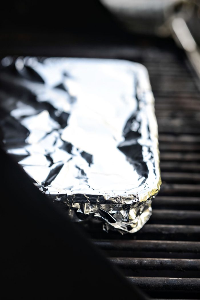 cover with foil