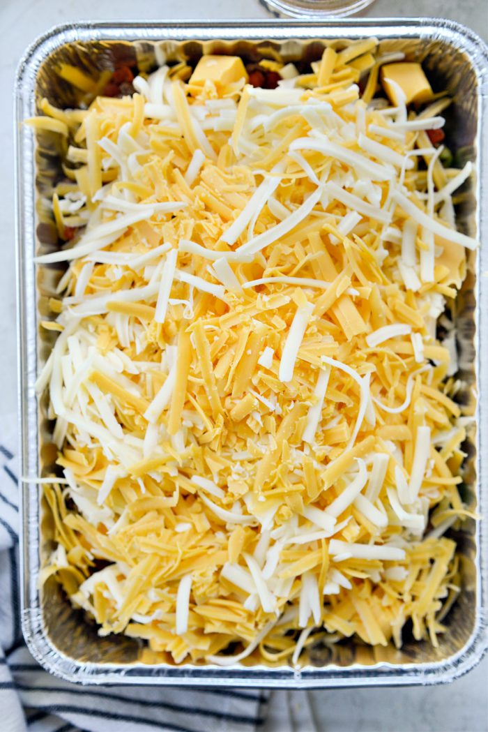 more cheese added
