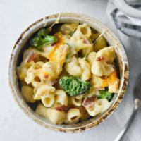 Bacon Broccoli Mac and Cheese